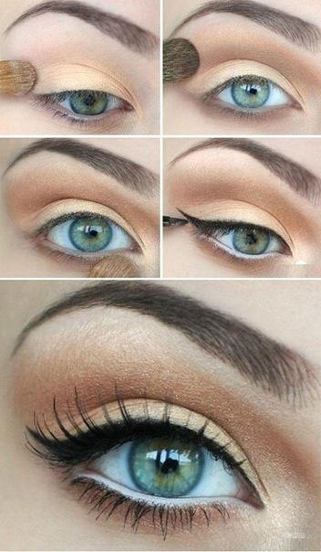 Деловой-make-up-для-голубых-глаз