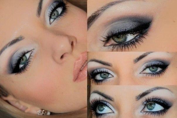 серо-голубых глаз