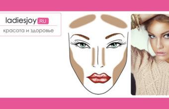 Контуринг макияж техника в домашних условиях
