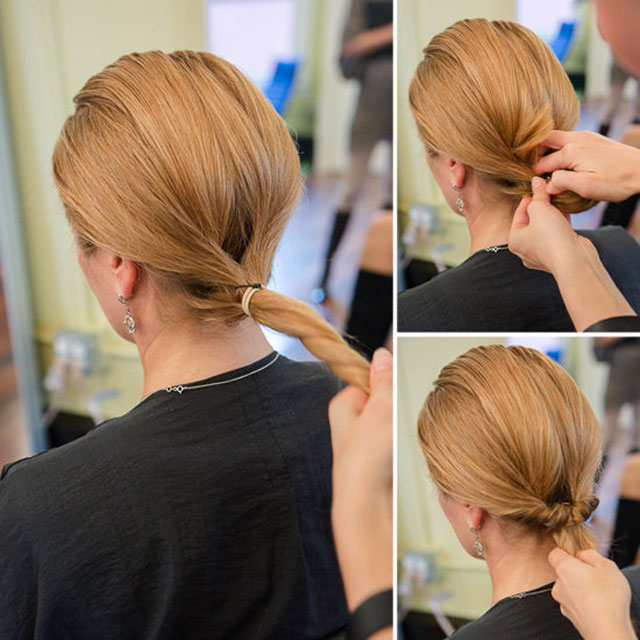 Однако чтобы не выглядеть слишком просто, можно уложить волосы с помощью плойки.